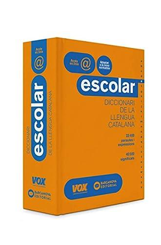 Diccionari Escolar de la Llengua Catalana VOX