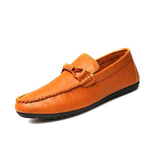 Fagioli di semplice moda in estate scarpe/Piede comfort traspirante scarpe Arancione