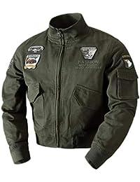 Invierno Militar de la Fuerza Aérea Piloto de los Hombres Caliente Grueso Forro de Lana algodón