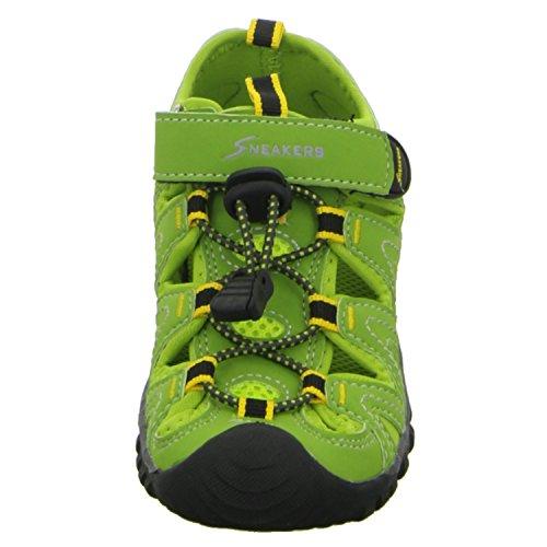 Sneakers PW1213 Jungen Sandalette Grün (Grün)