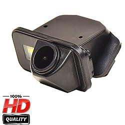 Farbkamera Wasserdicht Rückfahrkamera kennzeichenbeleuchtung Kamera KFZ Rückfahrsystem mit Einparkhilfe Nachtsicht für Toyota Corolla Auris Avensis T25 T27