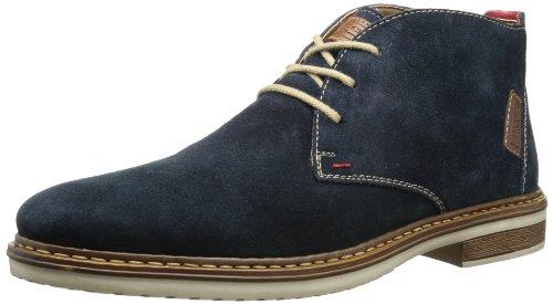 Rieker 30410, Herren Desert Boots, Blau (pazifik/mogano/rosso/15), 41 EU (7.5 Herren UK)