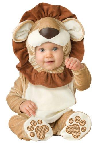 ASVP Shop®, Party-Kostüm für Weihnachten und Halloween, Baby, Jungs, Mädchen, Overall für Kleinkinder Gr. 12-18 Monate, Lovable Lion