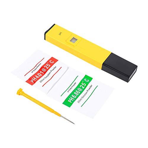 FTVOGUE tragbarer Digitales pH Messgerät mit LCD-Display Wasser gelb Tester Messer Aquarium Urin Wert Meter Pool - Wert-tank