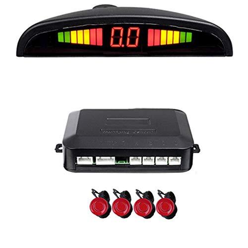 Dpolrs auto di sostegno di inverso di parcheggio del sistema bibi suono buzzer alarm reminder kit led displayer sensore di parcheggio