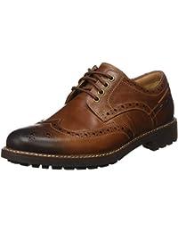 Clarks Montacute Wing 203517867 - Zapatos de cordones de cuero para hombre
