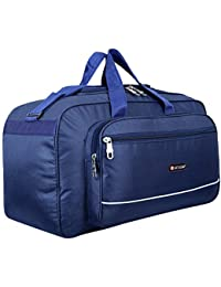 Sky Script Waterproof Polyester Lightweight 40 L Luggage Travel Duffel Bag for Men & Women (Blue) - SS41