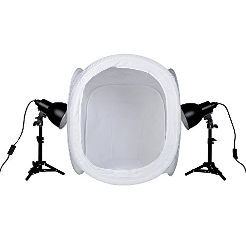 PhotoSEL PPC124 Tabletop Studio Lighting Kit for Product Photography
