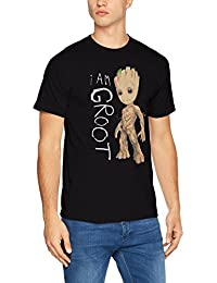 Marvel I Am Groot Scribles, T-Shirt Homme