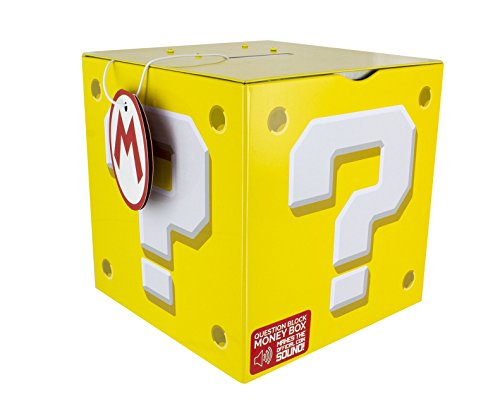 Super Mario Question Block Hucha, multicolor