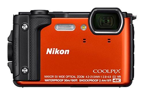 Nikon Coolpix W300 - Cámara compacta de 16 MP (WiFi, Bluetooth, 4K UHD, CMOS, Nikkor, SnapBridge, Videos Time-Lapse, reducción de...