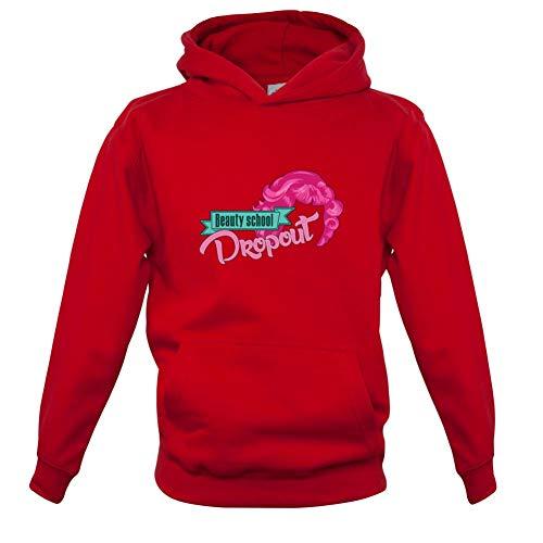 Dressdown Beauty School Dropout Kinder Hoodie/Kapuzenpullover - Rot - M (5-6 Jahre)