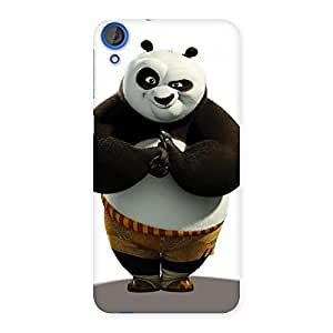 The Awesome Punched Panda Back Case Cover for HTC Desire 820
