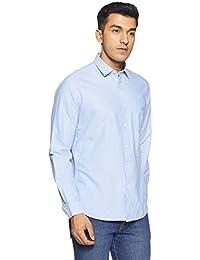 Van Heusen Sport Men's Plain Slim Fit Cotton Casual Shirt - B079LCTR98