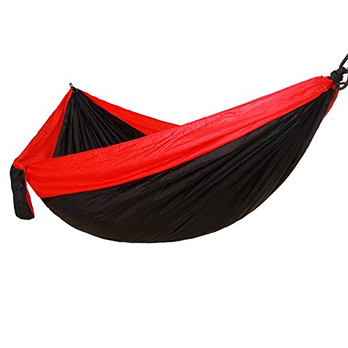 weiwei Hamac De Voyage Tissu Parachute, Outdoor Camping Swing (275 Cm * 140 Cm) élargissement Facile à Transporter La Chaise Accrochante