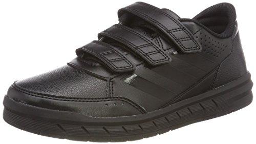 Adidas AltaSport CF I–Chaussures de sport pour enfant, blanc–(Ftwbla/Rosfue/Ftwbla)