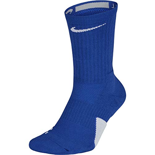 Nike Elite Basketball Crew Socks Basketballsocken, Game royal White, XL -