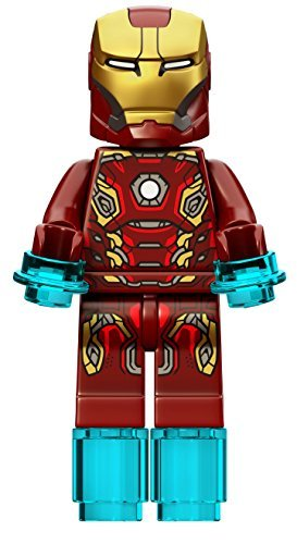 ECHT Lego Age of Ultron - IRON MAN (Typ 45 Armour) Minifigur - Teilung von 76029 Set