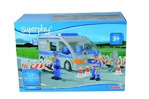 Simba 104354510-superplay Policía Transporter