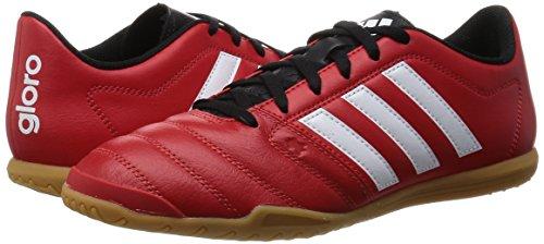 Scarpa da calcetto, 16,2 Gloro IN IC adidas Multicolore - Rojo / Blanco / Negro (Rojint / Ftwbla / Negbas)