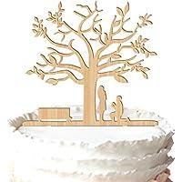 Rustico proposta sposa e sposo Cake Topper