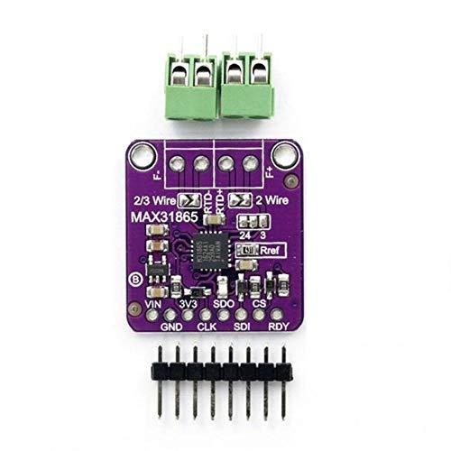 Henreal Modul des Verstärkers des Sensors der Temperatur PT100 MAX31865 RTD für Arduino -