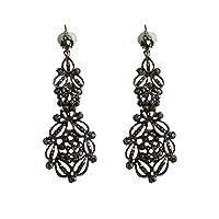 IKBEN Earrings for women, Bronze chandelier dangle earrings