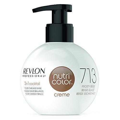REVLON PROFESSIONAL Nutri Color Crème, Nr. 713 Frosty Beige,1er Pack (1 x 270 ml)