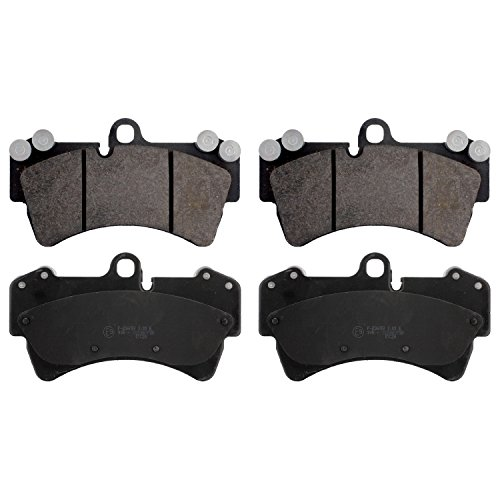 febi bilstein 16460 brake pads (Set of 4) (front axle)