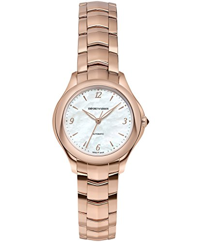 910aaaf2c478 Emporio Armani Swiss Made ARS8552 Rose Gold Steel 316 L Woman Watch