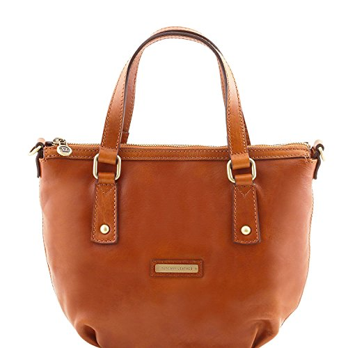 Tuscany Leather Olga - Sac shopping en cuir - TL141483 (Miel) Miel