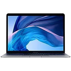 Apple MacBook Air (13 pouces, Processeur Intel Core i5 bicœur à 1,6 GHz, 128Go) - Gris sidéral (Modèle précédent)