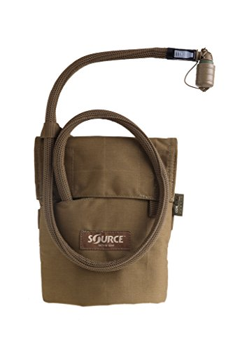 - Source Tactical Kangaroo 1L Collapsible Canteen with Pouch Trinksystem Coyote 1 Liter / 32 oz.