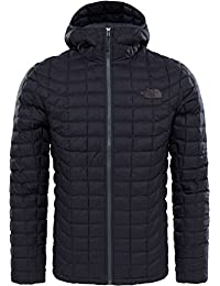 The North Face T9382AXYM. M Chaqueta con Capucha Thermoball, Hombre, Black Matte, M