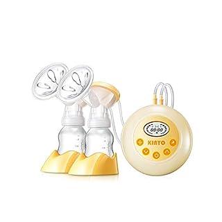 AnGeer Elektrische Milchpumpe, automatische Massage mit einstellbarer Saugkraft