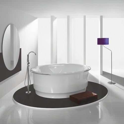 HOESCH Tondo Rund-Badewanne freistehend mit Außenverkleidung, Durchmesser 1700 mm 6631.010