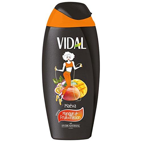 VIDAL Douche Mangue/Fruits de Passion de Maëva