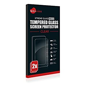 Savvies Tempered Glass Screen Protector Compatible with Polar M400 / M430 [2 Units] - Hardness 9H