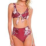 DaySing 2019 Damen Badeanzug Bikini Damen Print Mode Push-Up Gepolsterter BH Strand Set Bademode auf Lager