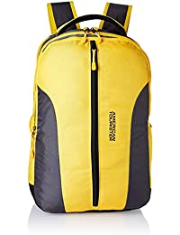 American Tourister Zap 2016 28 Ltrs Yellow Laptop Bag (AMT ZAP 2016 BACKPACK 07-YELLO)