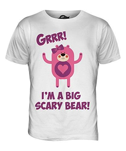 CandyMix Teddybär Zeichentrickfilm Herren T Shirt Weiß