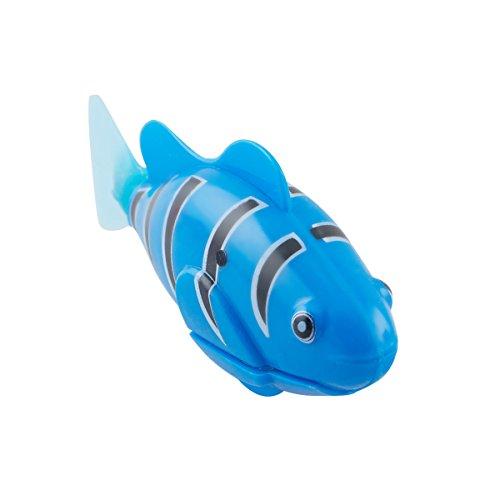 Scenstar Robo-Fisch Clownfisch Lebensechte Bewegungen, Auf- und Abtauchen | Wasserspaß für Kinder | elektronisches Wasser-Spielzeug Deep Sea Wimplefish, elektronisches Haustier bunt - 3