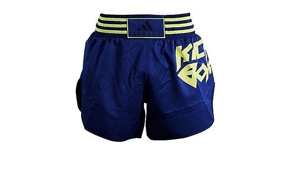 adidas Pantalon de Kickboxing Micro Diamant JauneBleu