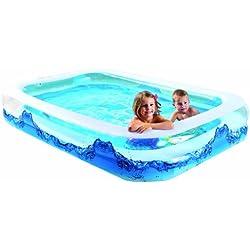 de-einkauf-toys@amazon.de Wehncke 12244 - Jumbo Piscina Hinchable Water Wave 305x183x50cm