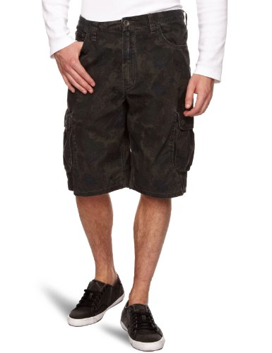 Vans Gurnard - Short Sportswear - Homme black floral camo (black floral camo)