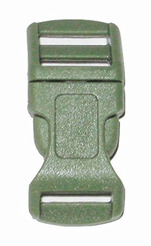 1-2-curved-side-release-buckles-with-adjustor-bar-multiple-color-and-quantity-10-pack-green-by-ibk-c