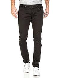 BLZ jeans - Jean homme noir classique slimfit