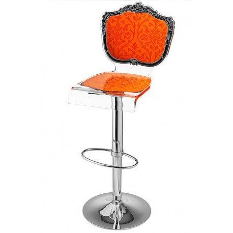 Acrila - Tabouret Baroque Orange