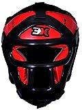 3X Sports Kopfschutz Boxen Kampfsport Boxtraining Kickboxen Gitter Head Guard KL