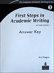 First Steps in Academic Writing Answer Key